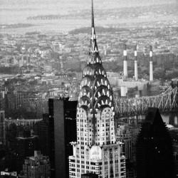 Chrysler Building, widok z Empire State Building