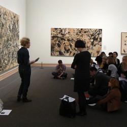 Referat o Jacksonie Pollocku w Metropolitan Museum of Art