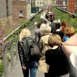 Spacer przez High Line