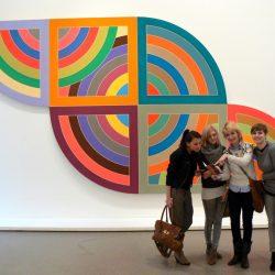 """Frank Stella, """"Harran II"""" (1967), Deutsche Guggenheim, wystawa """"Color Fields"""""""