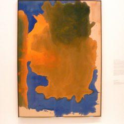 """Helen Frankenthaler, """"Canal"""" (1963), wystawa """"Color Fields"""" w Deutsche Guggenheim"""