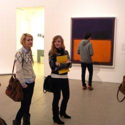 """wystawa """"Color Fields"""", Deutsche Guggenheim"""
