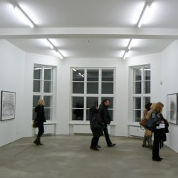 wystawa rysunków Roberta Morrisa w galerii Sprüth Magers