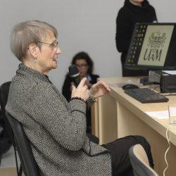 Prof. Maria Poprzęcka, fot. R. Rau