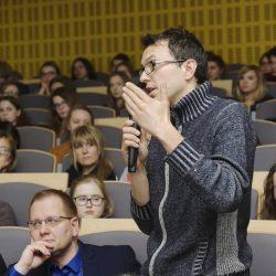 Dr Michał Mencfel, Prof. Maria Poprzęcka, fot. R. Rau