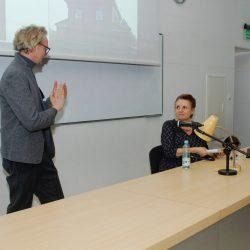 Dr hab. Piotr Korduba, Prof. Małgorzata Omilanowska, fot. R. Rau
